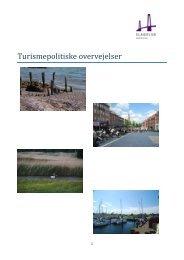 Turismepolitiske overvejelser – marts 2012