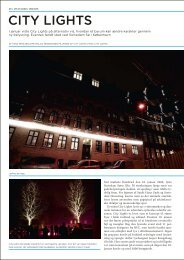 CITY LIGHTS - Dansk Center for Lys