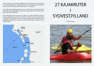 27 kajakruter i Vadehavet - Fanø