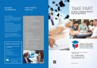 Event Brochure - Iraq Higher Education