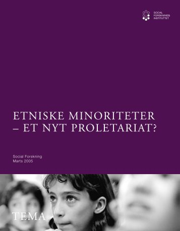Etniske minoriteter – et nyt proletariat? - SFI