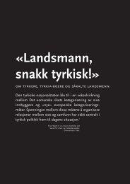 «Landsmann, snakk tyrkisk!» - Babylon