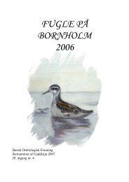 Fugle på Bornholm 2006 - DOF Bornholm