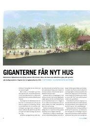 GIGANTERNE FÅR NYT HUS