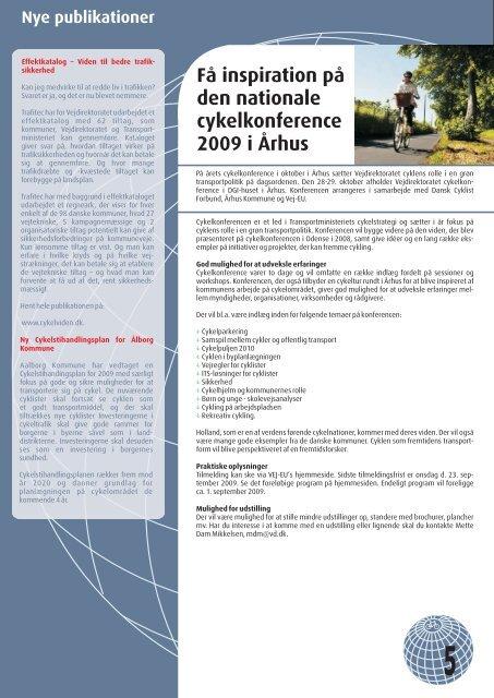 Læs nyhedsbrevet [.pdf 11 mb] - Cykelviden