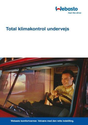 Total klimakontrol undervejs - webasto.co.dk