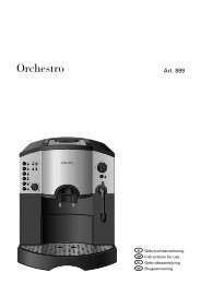 Orchestro Titel D-DK - Expresoare de cafea Second Hand Revizionate