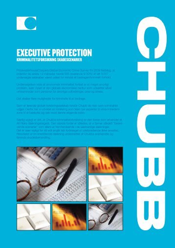 EXECUTIVE PROTECTION - Chubb Danmark