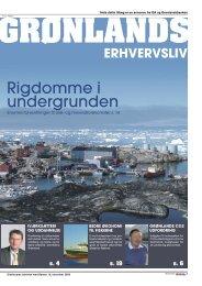 Rigdomme i undergrunden - Grønlands Arbejdsgiverforening