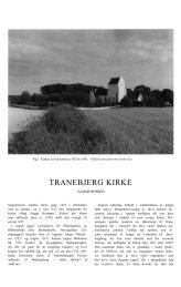 TRANEBJERG KIRKE - Danmarks Kirker - Nationalmuseet