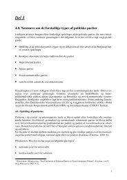 Del 3 4.0. Nærmere om de forskellige typer af politiske partier