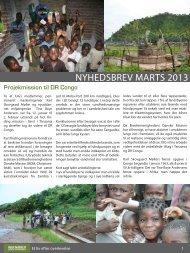 NYHEDSBREV MARTS 2013 - Ingeniører uden Grænser