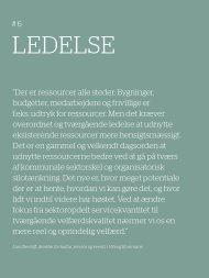 LEDELSE - Mandag Morgen