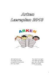 PÆDAGOGISKE LÆREPLANER - Arken