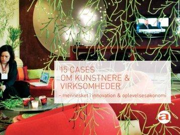 15 CASES OM KUNSTNERE & VIRKSOMHEDER - Artlab