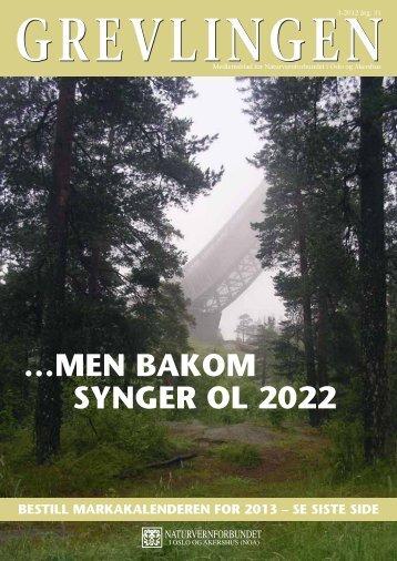 Grevlingen nr. 3 - 2012 - Norges Naturvernforbund