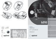 (0)71 987 42 00 fax: ++41 (0)71 987 42 99 info@optrel.com www ...