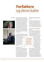 Forfattere og deres katte - Felis Danica