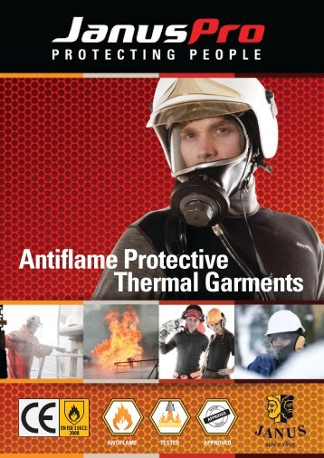 Antiflame Protective Thermal Garments - Norhand