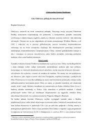 Publikacja dr hab. Bogdana Góralczyka, prof. UW - CHINA EXPO