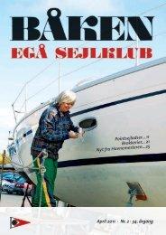 April 2011 · Nr. 2 · 34. årgang Pointsejladser... 11 ... - Egå Sejlklub