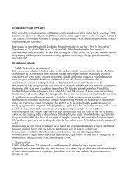 Formandsberetning 1999-2001 - Dansk Selskab for ...