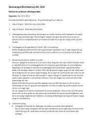1625 Afdmøde referat offentlig 29-11-2011 - Domea