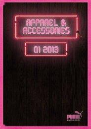 AppareL & accessories Q1 2013 - Puma