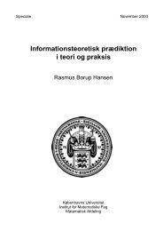 PDF-fil (975326 bytes) - Institut for Matematiske Fag - Københavns ...