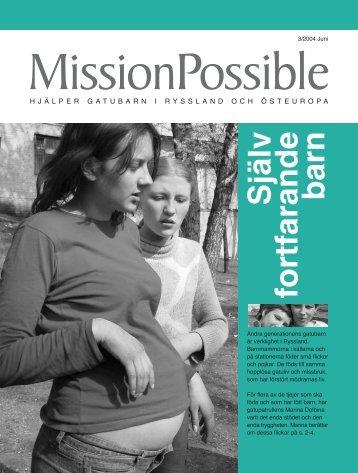 Själv fortfarande barn - Mission Possible