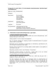 Ejerforeningen Eremitageparken Side 1 af 4 Bestyrelsesmøde 9 ...
