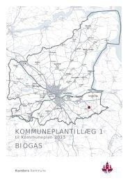 Kommuneplantillæg nr. 1 - Biogas - Kommuneplan - Randers ...