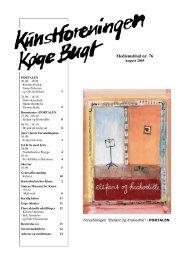 Nr 76 - august 2005 - Kunstforeningen Køge Bugt