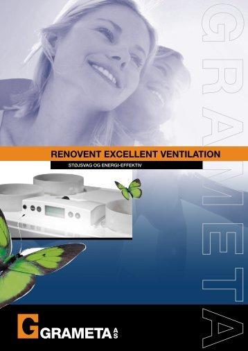 RENOVENT EXCELLENT VENTILATION - Grameta
