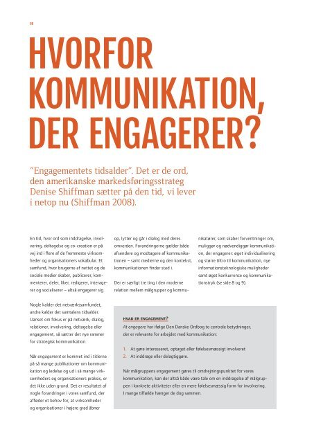 kommunikation, der engagerer - Kommunikationsforum