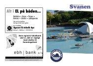 Svanen Nr. 1 · Januar 2009 - Attrup Havn