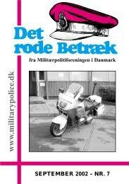 www .militarypolice.dk - Militærpolitiforeningen