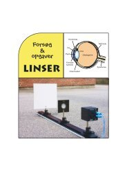 Linser - matematikfysik