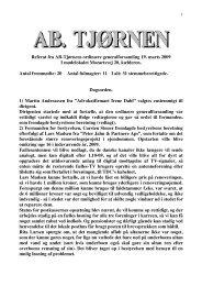 Referat af ORDINÆR GENERALFORSAMLING - 19. marts 2009