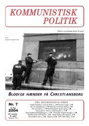 Kommunistisk Politik 7, 2004