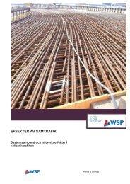 EFFEKTER AV SAMTRAFIK - WSP Group