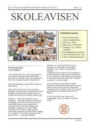Skoleavis den 29. oktober 2012 - Vallekilde-Hørve Friskole
