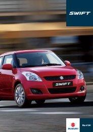 Den helt nye Swift. Mere sporty og køreglad - Suzuki.dk
