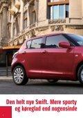 Den helt nye Swift. Mere sporty og køreglad - Suzuki.dk - Page 2