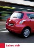 Den helt nye Swift. Mere sporty og køreglad - Suzuki.dk - Page 4