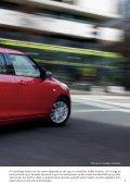 Den helt nye Swift. Mere sporty og køreglad - Suzuki.dk - Page 5