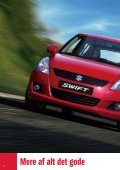 Den helt nye Swift. Mere sporty og køreglad - Suzuki.dk - Page 6