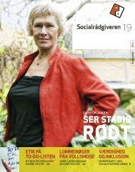 Socialrådgiveren nr. 19-2011 - Dansk Socialrådgiverforening