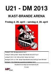 Program - Ikast KFUM Volleyball
