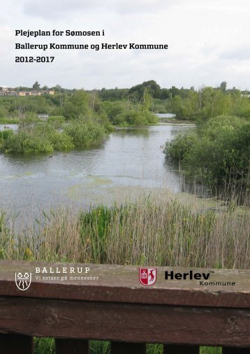 Plejeplan 2012 - 2017 for Sømosen - Ballerup Kommune